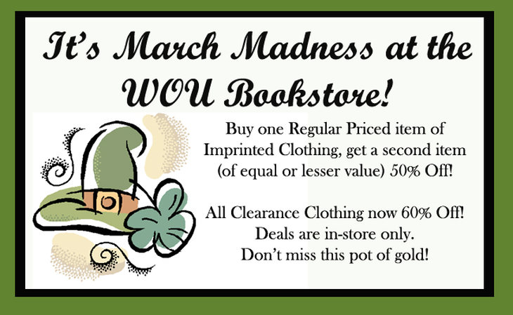 March Madness in-store only sale