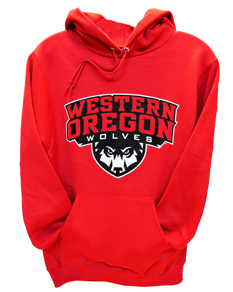 Red Western Shield Hoodie - LIMITED SIZES