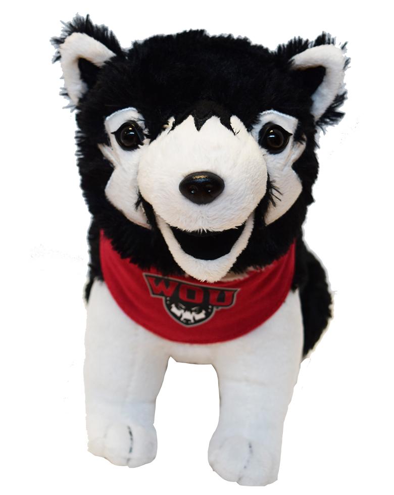 WOU Wolf Pup Plush