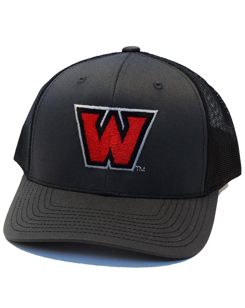 Dark Gray 'W' Hat