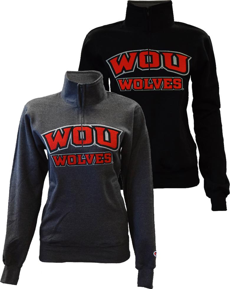 Champion Varsity Quarter Zip Sweatshirt