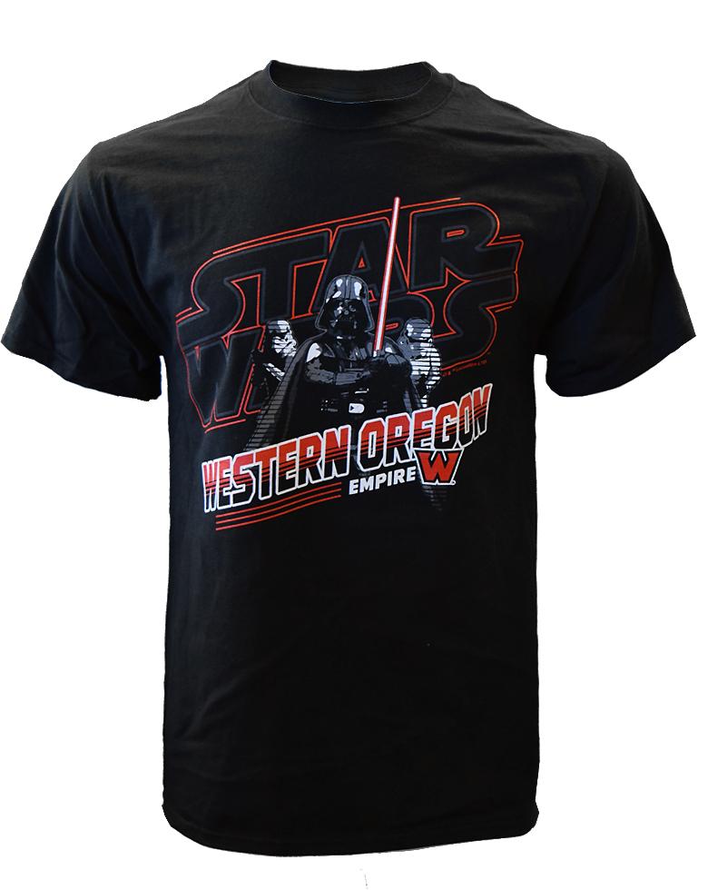 Black Darth Vader / WOU Tee