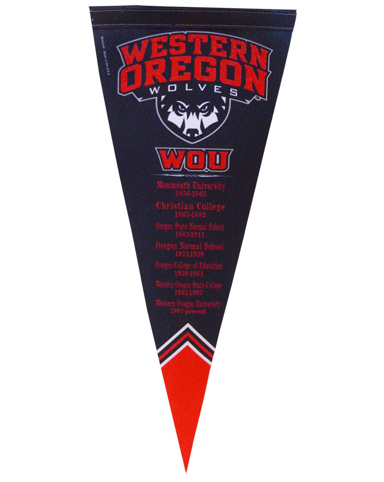 Image For WOU History Pennant