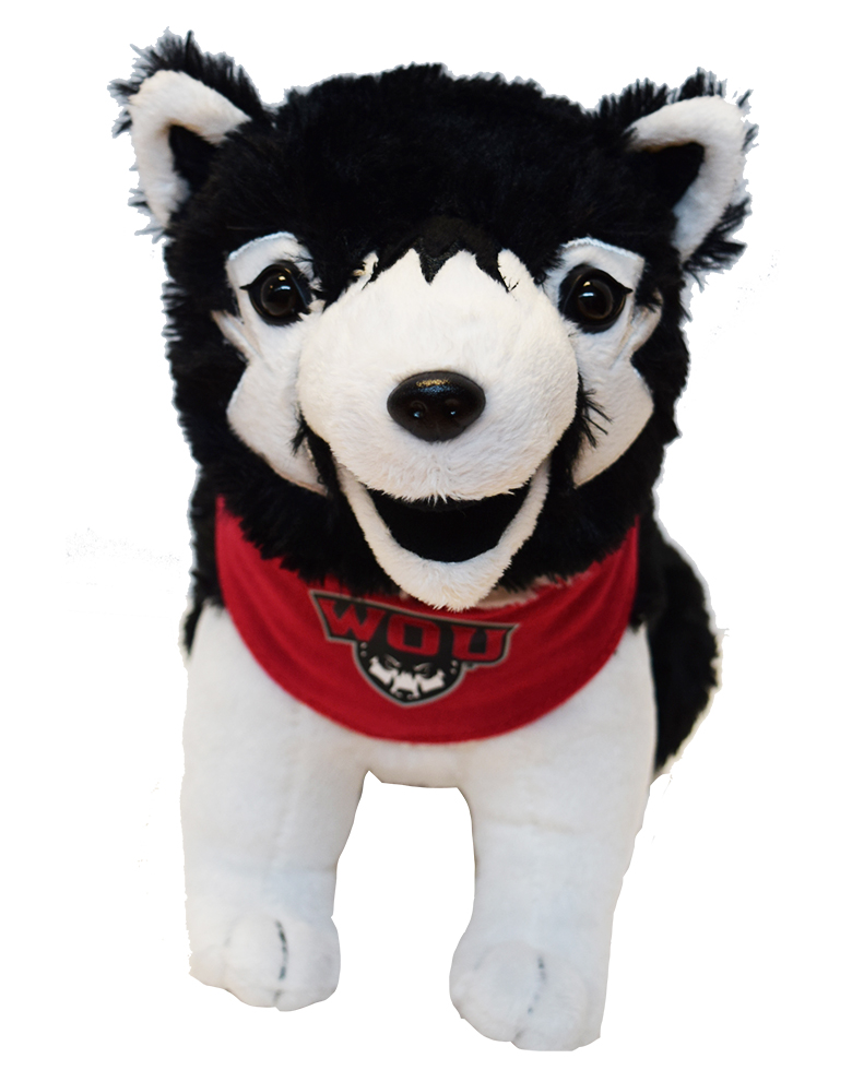 Image For WOU Wolf Pup Plush