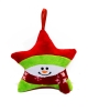 Cover Image for Fleece Snowman Star Ornament