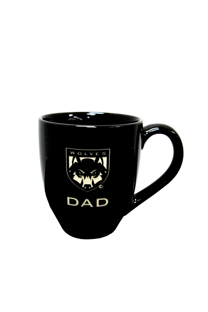 Image For Wolves Shield Logo Mug Dad