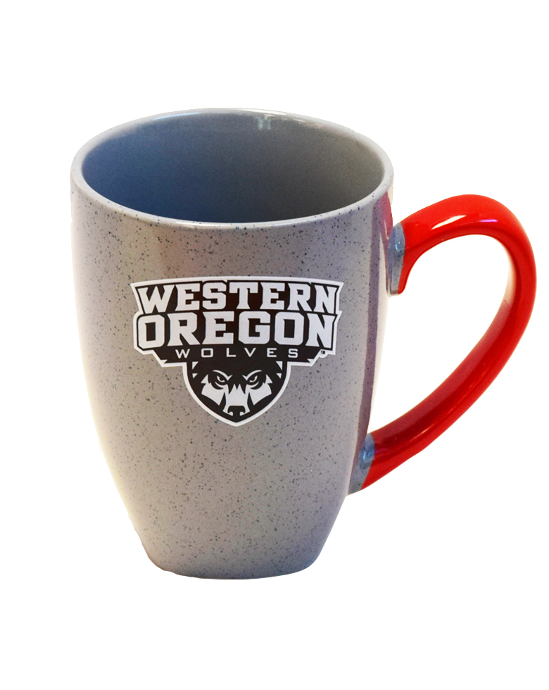 Image For Gray Speckled Western Oregon Mug