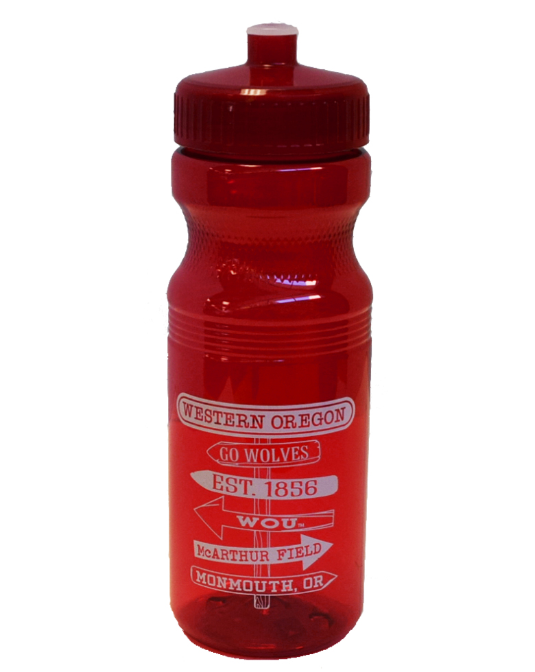 Image For Red Sport Squirt Bottle