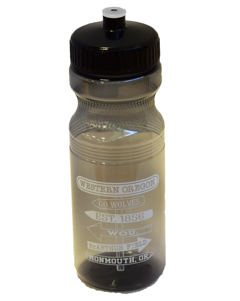 Image For Gray Sport Squirt Bottle
