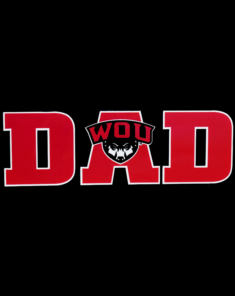 Cover Image For Red DAD Decal