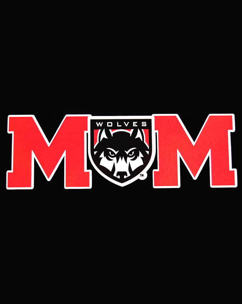 Cover Image For Red MOM Decal