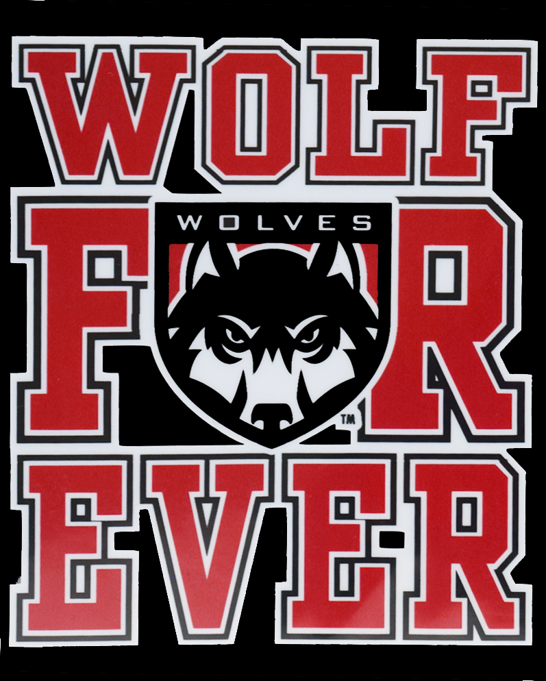 Image For Wolf Forever Decal