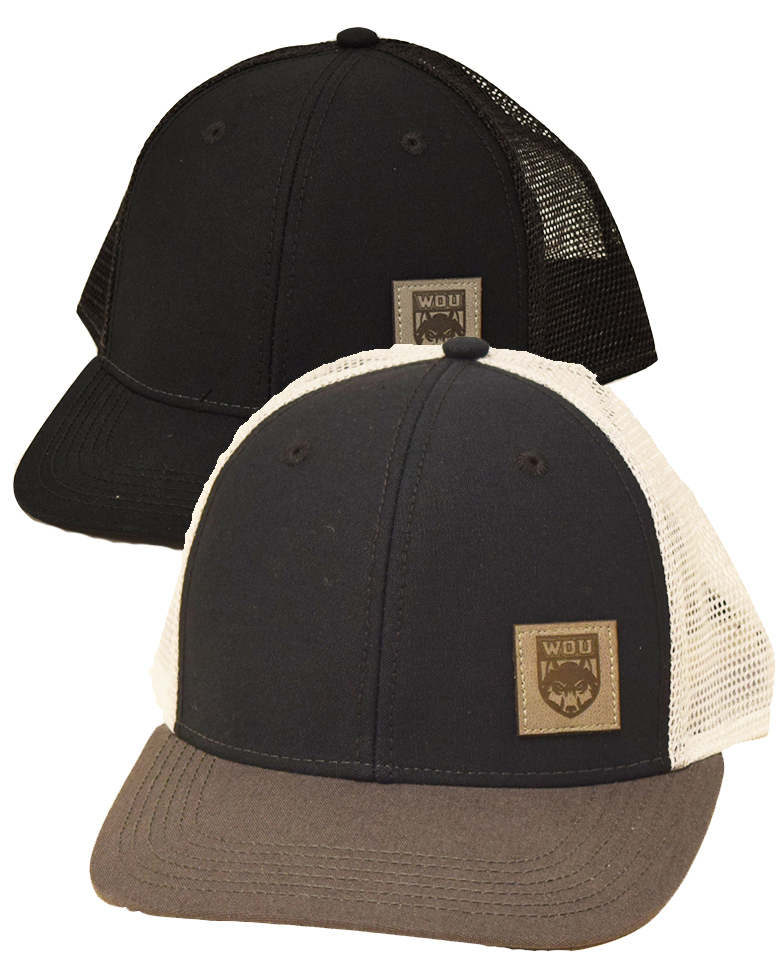 Cover Image For Flat Bill Mesh-Back Hat