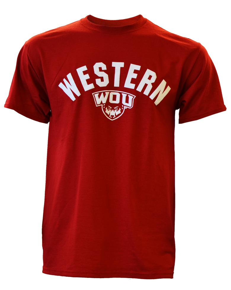 Cover Image For Red Western Tee