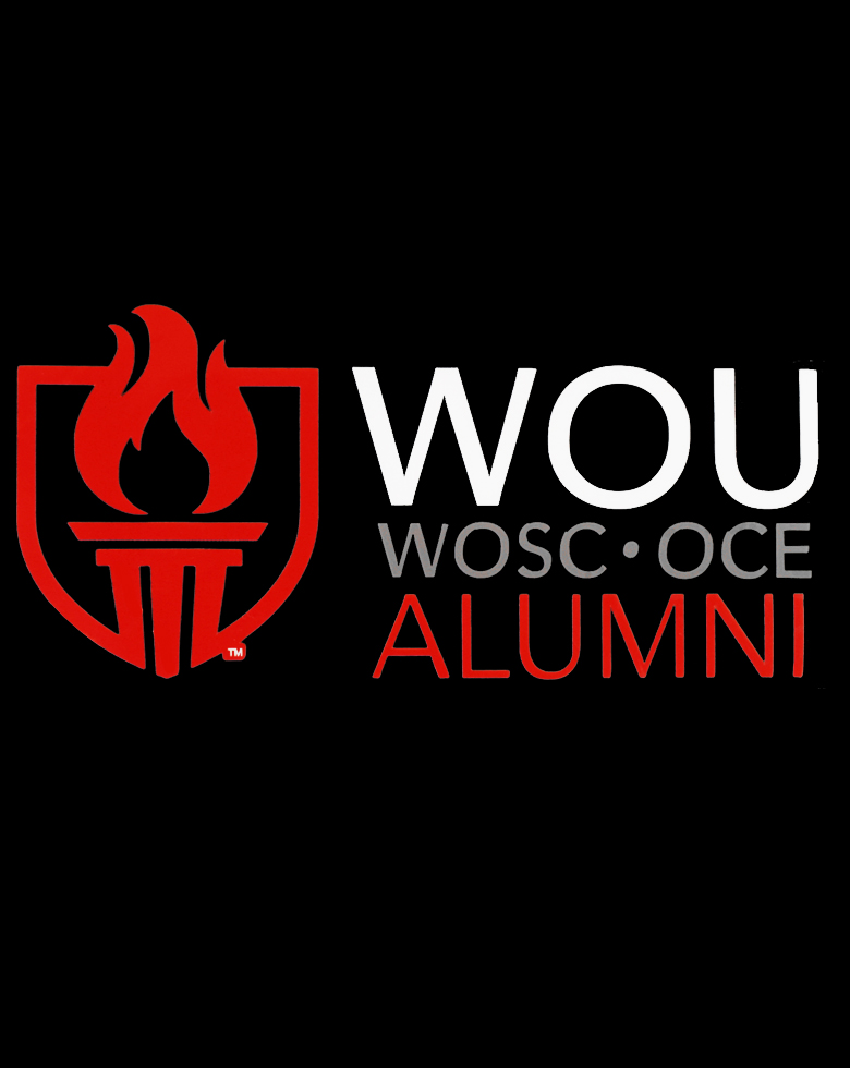 Image For Throwback WOU Alumni Decal