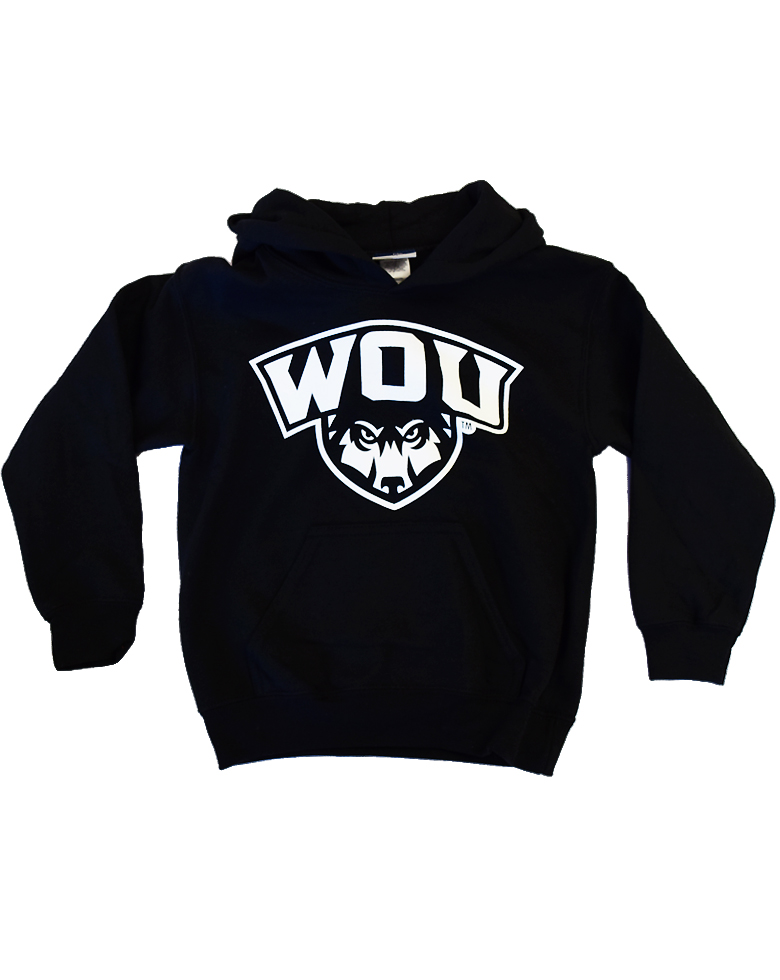 Image For Youth Black WOU Hoodie