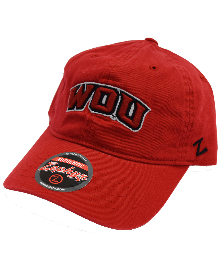 Cover Image For Zephyr Red WOU Hat