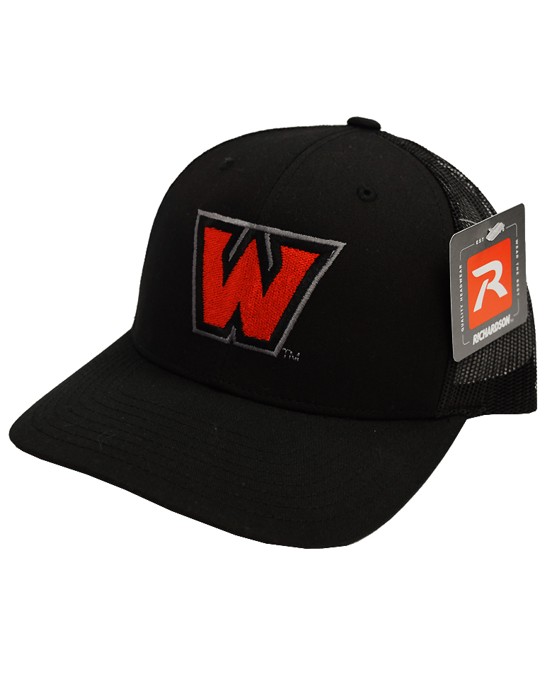 "Image For ""W"" Hat - Black"