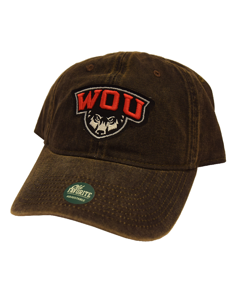 Image For Brown WOU Trucker Hat