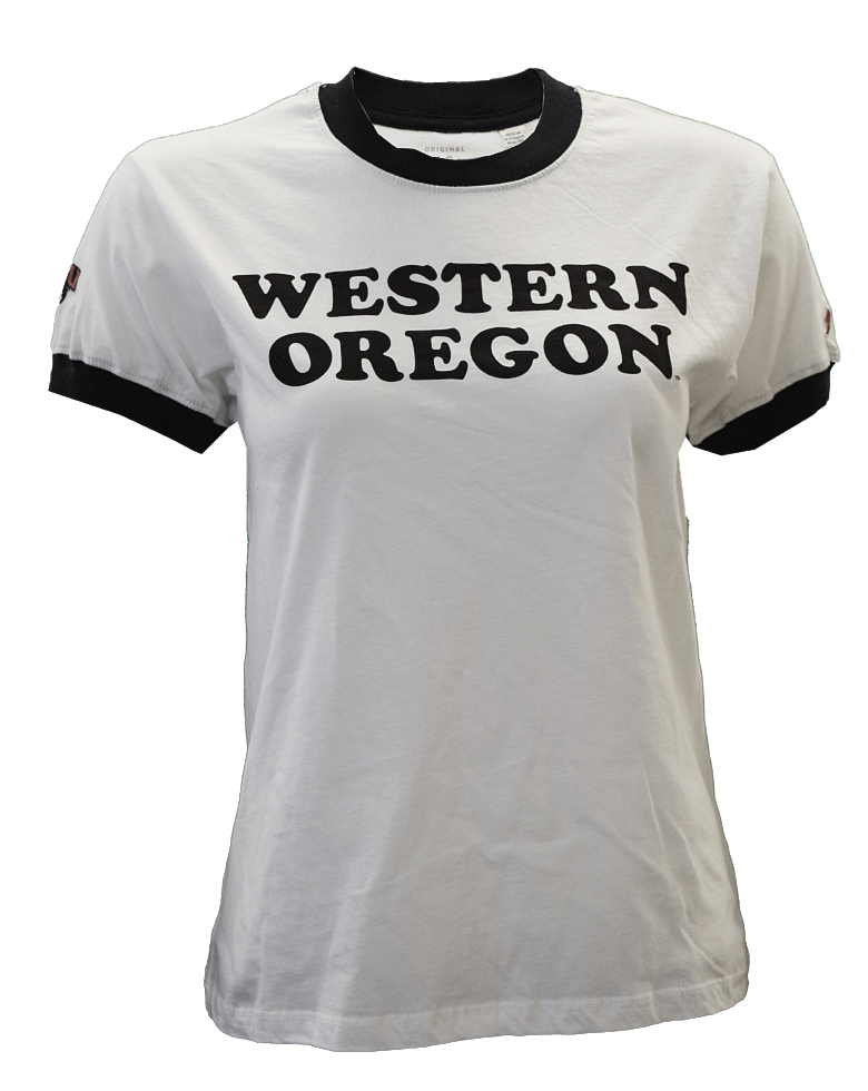Cover Image For Western Oregon Ringer Tee