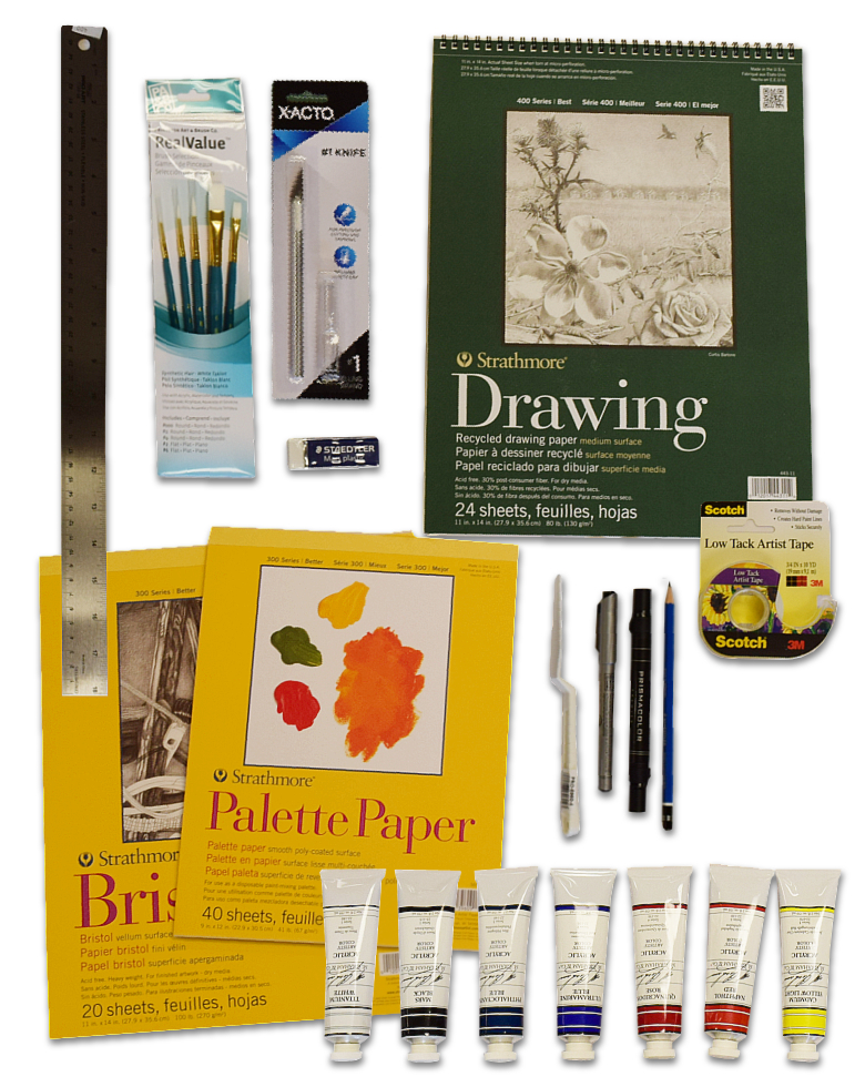 Image For ART 115 Supply Kit #1