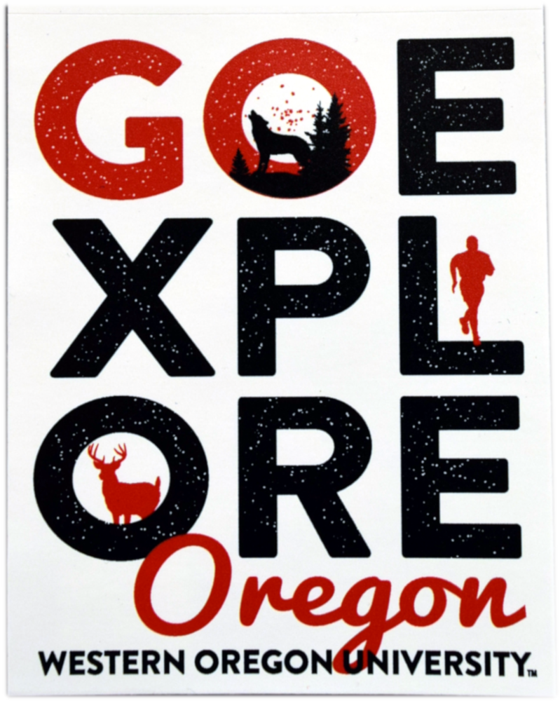 Image For Go Explore Oregon Decal
