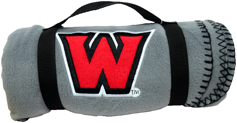 "Image For Monogrammed ""W"" Blanket"