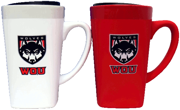 Image For Wolf Shield Coffee Mug