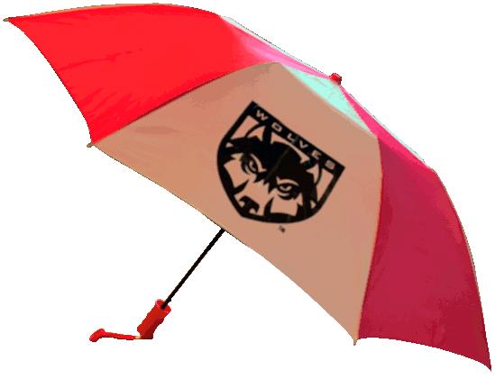 Image For Wolf Shield Umbrella