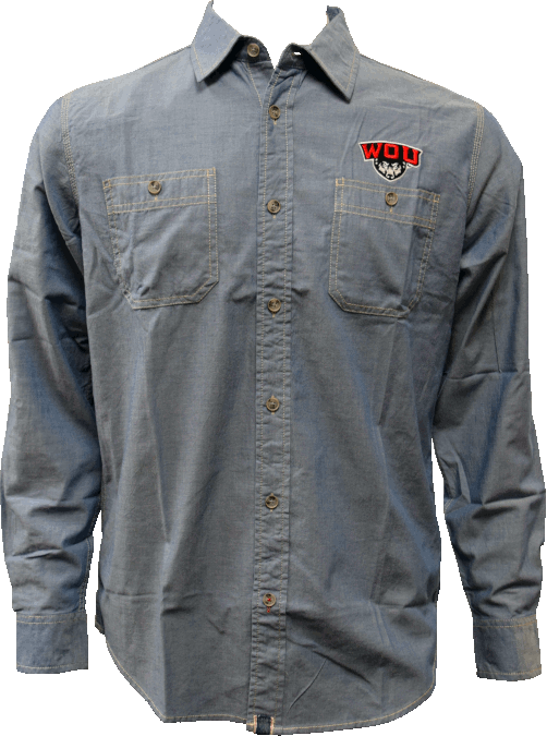 Image For Denim Button Up Shirt