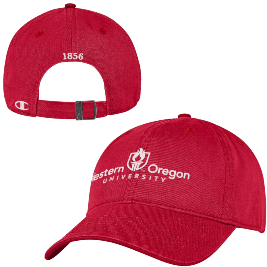 Image For Academic Logo Hat - Red