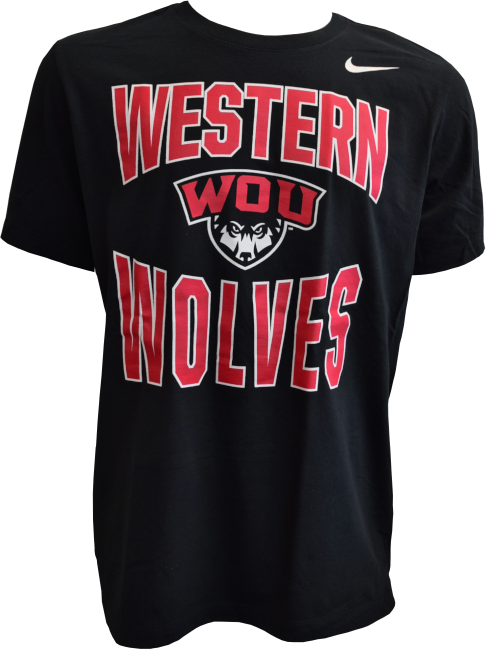 Image For Western Wolves Tee Nike