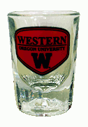 Image For Western Oregon Heavy Bottom Shot Glass