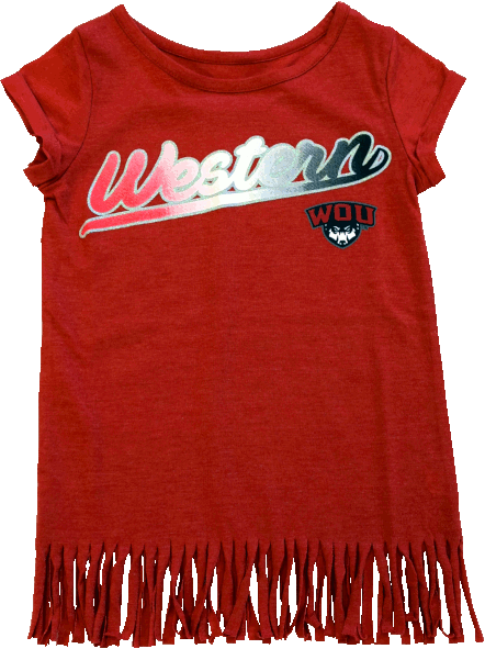 Cover Image For Western Youth Girls Fringe Tee