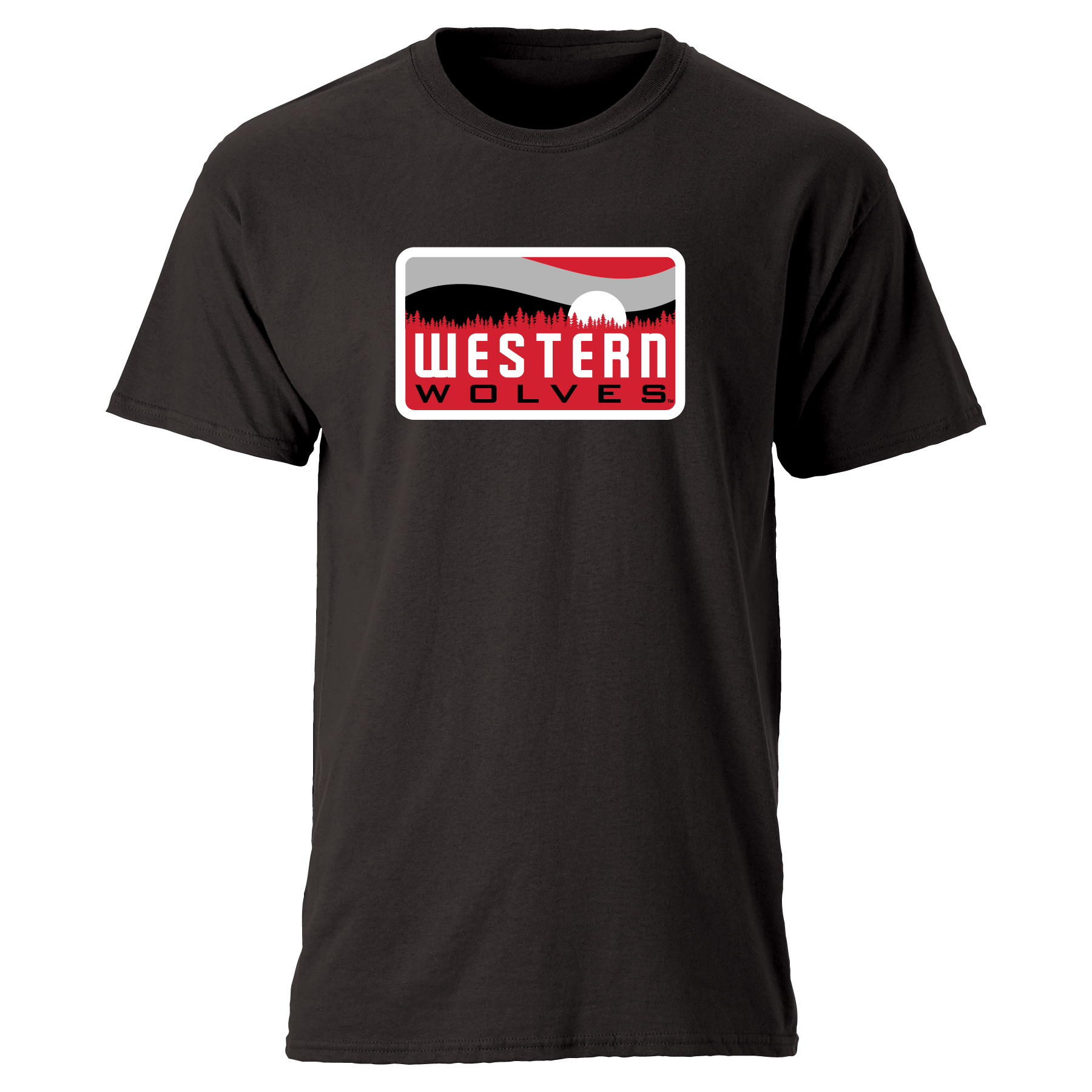 Image For Western Wolves Tee