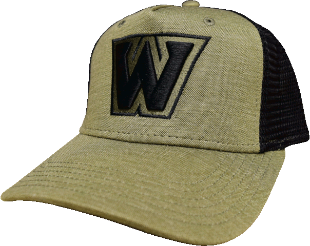 "Cover Image For Monogrammed ""W"" Logo Mesh Hat"