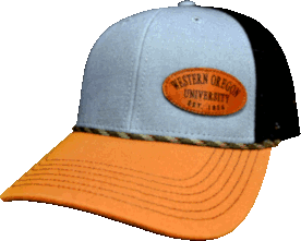 Cover Image For Western Oregon University Mesh Back Hat