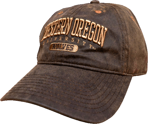 Image For Western Oregon University Wolves - Brown