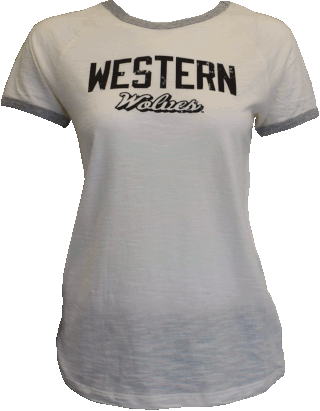 Cover Image For Western Wolves Tee