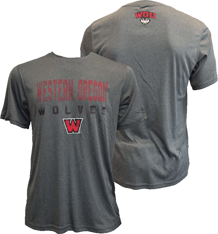 Image For Western Oregon Wolves Tee