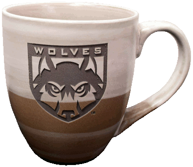 Image For Wolves Shield Logo Mug