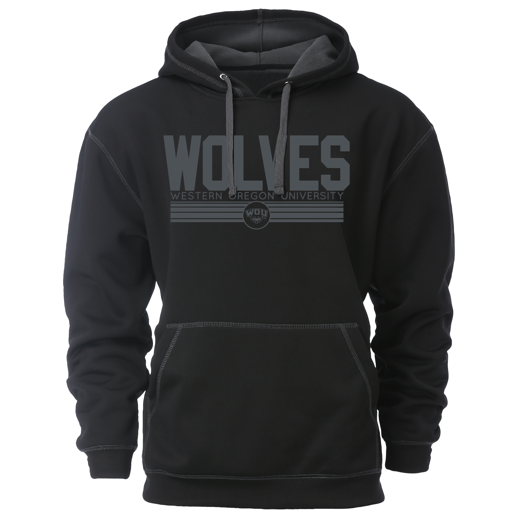 Image For Wolves Hooded Sweatshirt