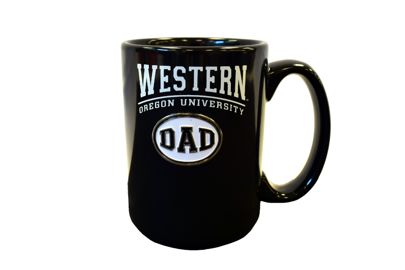 Cover Image For Western Oregon University Dad Mug