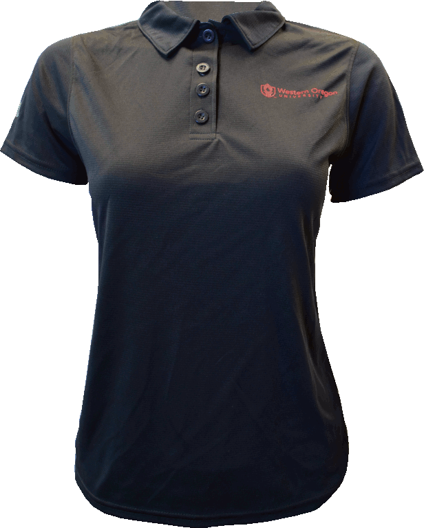 Image For Academic Logo Black Polo