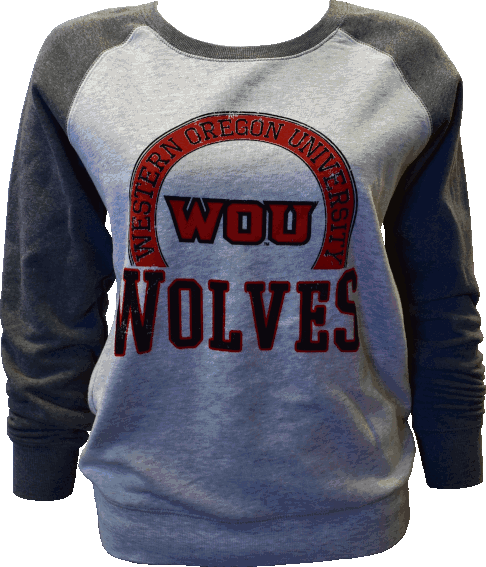 Image For Gray Wolves Crew Sweatshirt