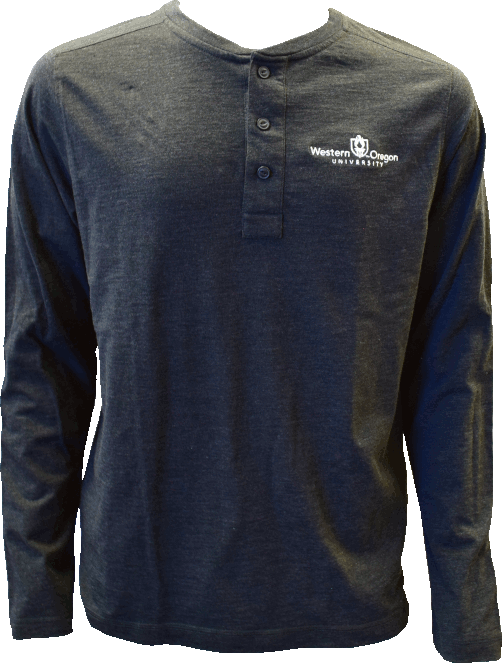 Cover Image For Academic Torch Logo Long Sleeve Henley