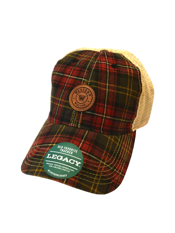 Image For L2 Plaid Trucker Hat