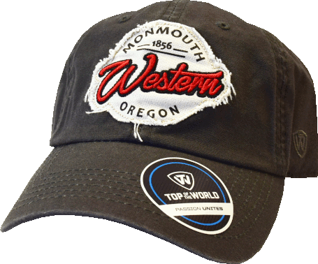 Image For Monmouth Western Oregon Hat