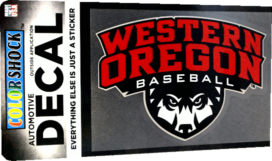 Image For Primary Logo Baseball Decal