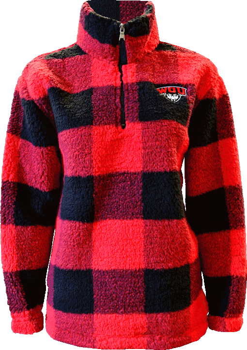 Image For Buffalo Plaid Sherpa By Boxercraft